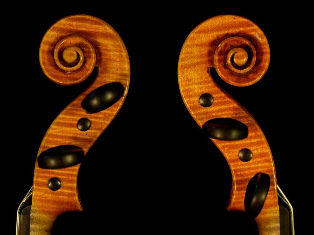Tête violon modèle Guarnerius
